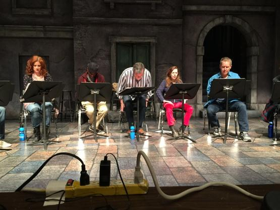 Rehearsal of Theresa Rebeck's THE NEST, Colorado New Play Summit