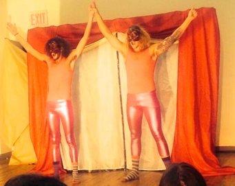 Original Commedia project performance, Stella Adler Studio of Acting