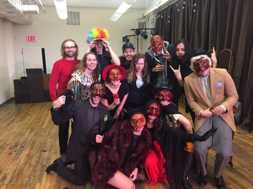 Stella Adler Evening Conservatory final Commedia class!