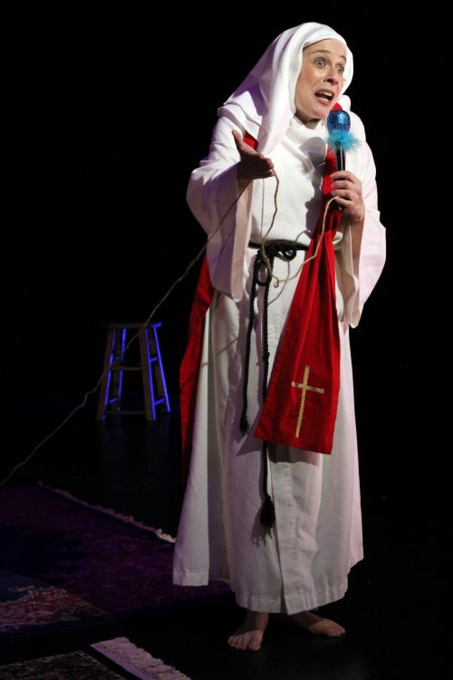As the demon Balaam in SEVEN DEVILS AND A FRENCH NUN